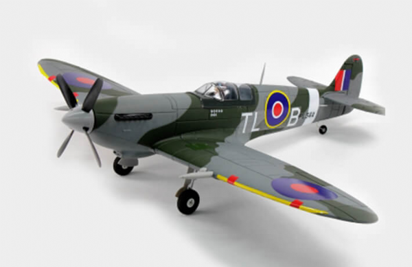 Dynam Spitfire MK1X 1200mm With Retracts (no tx/rx batt)